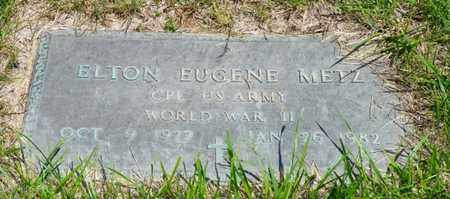 METZ, ELTON EUGENE - Shelby County, Ohio | ELTON EUGENE METZ - Ohio Gravestone Photos