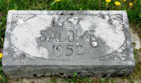 METZ, SALOME - Shelby County, Ohio | SALOME METZ - Ohio Gravestone Photos