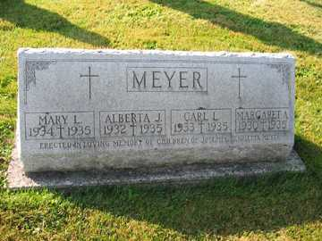 MEYER, HENRIETTA - Shelby County, Ohio | HENRIETTA MEYER - Ohio Gravestone Photos