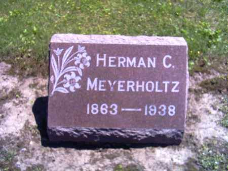 MEYERHOLTZ, HERMAN C. - Shelby County, Ohio | HERMAN C. MEYERHOLTZ - Ohio Gravestone Photos