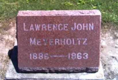 MEYERHOLTZ, LAWRENCE JOHN - Shelby County, Ohio | LAWRENCE JOHN MEYERHOLTZ - Ohio Gravestone Photos