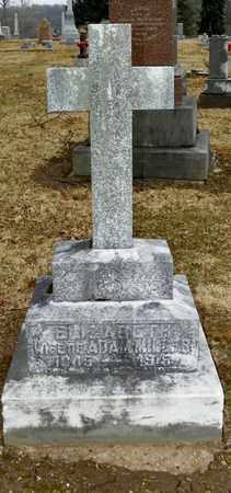 MILLER, ELIZABETH - Shelby County, Ohio | ELIZABETH MILLER - Ohio Gravestone Photos
