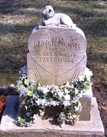 MILLER, GEORGE MICHAEL - Shelby County, Ohio | GEORGE MICHAEL MILLER - Ohio Gravestone Photos