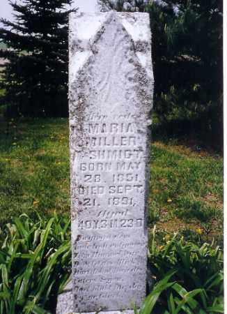 MILLER, MARIA - Shelby County, Ohio | MARIA MILLER - Ohio Gravestone Photos
