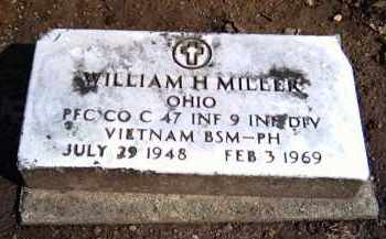 MILLER, WILLIAM H. - Shelby County, Ohio | WILLIAM H. MILLER - Ohio Gravestone Photos