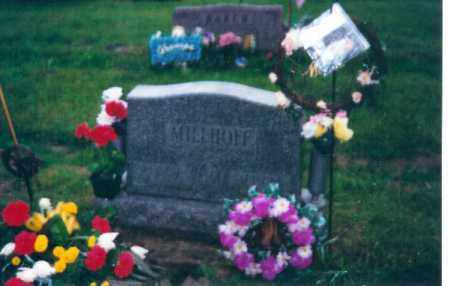 MILLHOFF, KATHRYN - Shelby County, Ohio | KATHRYN MILLHOFF - Ohio Gravestone Photos