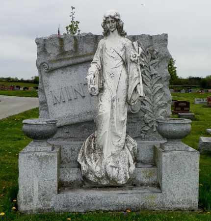 MINTON, CLARA FREDA - Shelby County, Ohio | CLARA FREDA MINTON - Ohio Gravestone Photos