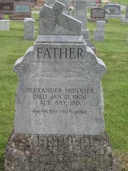 MONNIER, ALEXANDER - Shelby County, Ohio | ALEXANDER MONNIER - Ohio Gravestone Photos