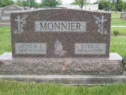 MONNIER, ARTHUR JOSEPH - Shelby County, Ohio | ARTHUR JOSEPH MONNIER - Ohio Gravestone Photos