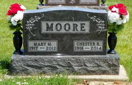 MOORE, MARY M. - Shelby County, Ohio | MARY M. MOORE - Ohio Gravestone Photos