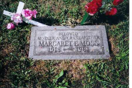 MOSS, MARGARET E - Shelby County, Ohio | MARGARET E MOSS - Ohio Gravestone Photos