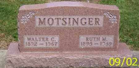 MOTSINGER, RUTH M. - Shelby County, Ohio | RUTH M. MOTSINGER - Ohio Gravestone Photos