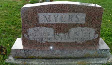 MYERS, DANIEL H. - Shelby County, Ohio | DANIEL H. MYERS - Ohio Gravestone Photos