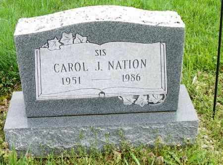 NATION, CAROL J. - Shelby County, Ohio | CAROL J. NATION - Ohio Gravestone Photos