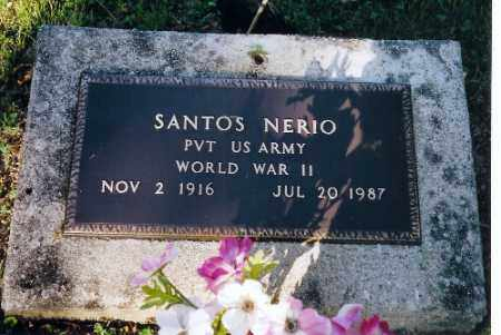 NERIO, SANTOS - Shelby County, Ohio | SANTOS NERIO - Ohio Gravestone Photos
