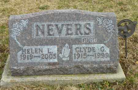 NEVERS, HELEN L. - Shelby County, Ohio | HELEN L. NEVERS - Ohio Gravestone Photos