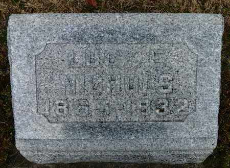 NICHOLS, LUCY E. - Shelby County, Ohio | LUCY E. NICHOLS - Ohio Gravestone Photos