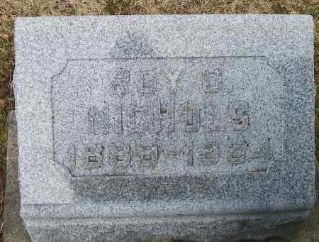 NICHOLS, ROY O. - Shelby County, Ohio | ROY O. NICHOLS - Ohio Gravestone Photos