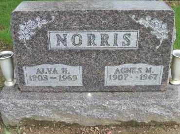 NORRIS, AGNES M. - Shelby County, Ohio | AGNES M. NORRIS - Ohio Gravestone Photos