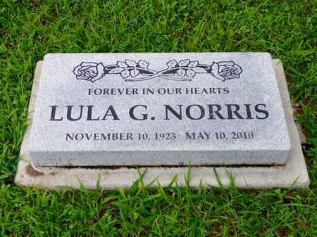 NORRIS, LULA G. - Shelby County, Ohio | LULA G. NORRIS - Ohio Gravestone Photos