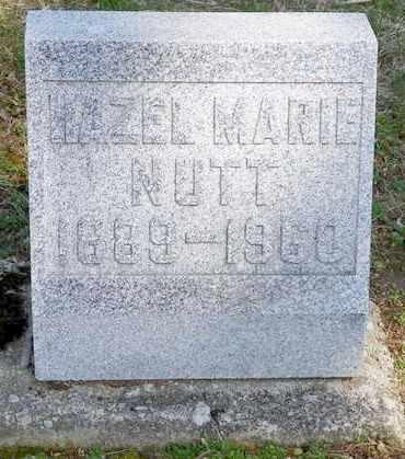 NUTT, HAZEL MARIE - Shelby County, Ohio | HAZEL MARIE NUTT - Ohio Gravestone Photos
