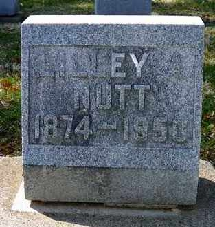 NUTT, LILLEY A. - Shelby County, Ohio | LILLEY A. NUTT - Ohio Gravestone Photos
