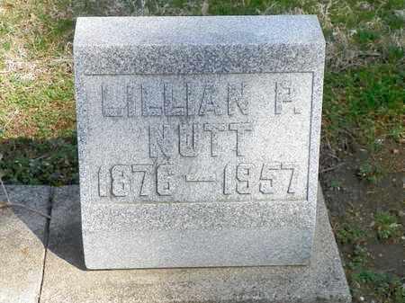 NUTT, LILLIAN P. - Shelby County, Ohio | LILLIAN P. NUTT - Ohio Gravestone Photos