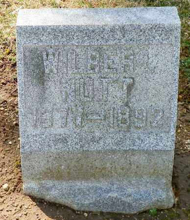 NUTT, WILBER I. - Shelby County, Ohio | WILBER I. NUTT - Ohio Gravestone Photos