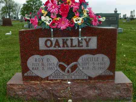 OAKLEY, LUCILLE E. - Shelby County, Ohio | LUCILLE E. OAKLEY - Ohio Gravestone Photos