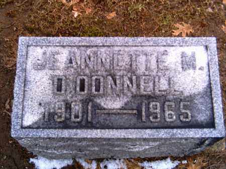 O'DONNELL, JEANNETTE M. - Shelby County, Ohio | JEANNETTE M. O'DONNELL - Ohio Gravestone Photos