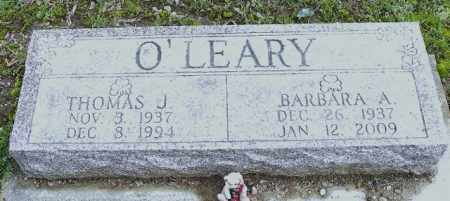 O'LEARY, BARBARA A. - Shelby County, Ohio | BARBARA A. O'LEARY - Ohio Gravestone Photos