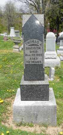 ORBISON, THOMAS J. - Shelby County, Ohio | THOMAS J. ORBISON - Ohio Gravestone Photos