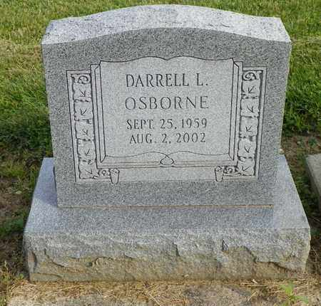 OSBORNE, DARRELL L. - Shelby County, Ohio | DARRELL L. OSBORNE - Ohio Gravestone Photos