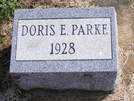 PARKE, DORIS  E - Shelby County, Ohio | DORIS  E PARKE - Ohio Gravestone Photos