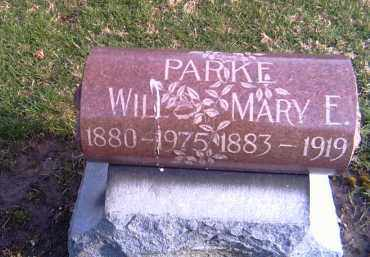 PARKE, MARY E. - Shelby County, Ohio | MARY E. PARKE - Ohio Gravestone Photos