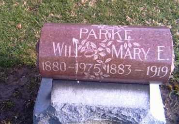 PARKE, WILL - Shelby County, Ohio | WILL PARKE - Ohio Gravestone Photos