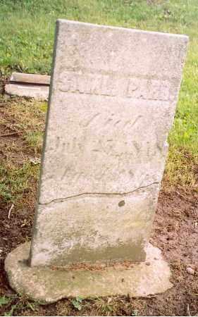 PARR, SAMUEL - Shelby County, Ohio | SAMUEL PARR - Ohio Gravestone Photos