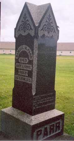 PARR, SAMUEL H. - Shelby County, Ohio | SAMUEL H. PARR - Ohio Gravestone Photos