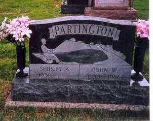 PARTINGTON, JOHN W. - Shelby County, Ohio | JOHN W. PARTINGTON - Ohio Gravestone Photos