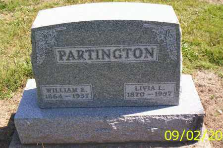 PARTINGTON, WILLIAM E. - Shelby County, Ohio | WILLIAM E. PARTINGTON - Ohio Gravestone Photos