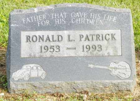 PATRICK, RONALD L. - Shelby County, Ohio | RONALD L. PATRICK - Ohio Gravestone Photos