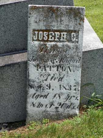PATTON, JOSEPH C. - Shelby County, Ohio | JOSEPH C. PATTON - Ohio Gravestone Photos