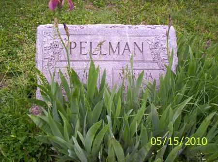PELLMAN, MARTHA B. - Shelby County, Ohio | MARTHA B. PELLMAN - Ohio Gravestone Photos