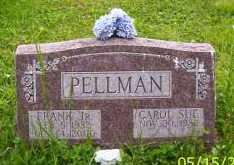 PELLMAN, CAROL SUE - Shelby County, Ohio | CAROL SUE PELLMAN - Ohio Gravestone Photos