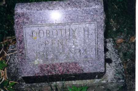 PENCE, DOROTHY H - Shelby County, Ohio | DOROTHY H PENCE - Ohio Gravestone Photos
