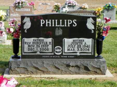 PHILLIPS, HURSTLE H. - Shelby County, Ohio | HURSTLE H. PHILLIPS - Ohio Gravestone Photos