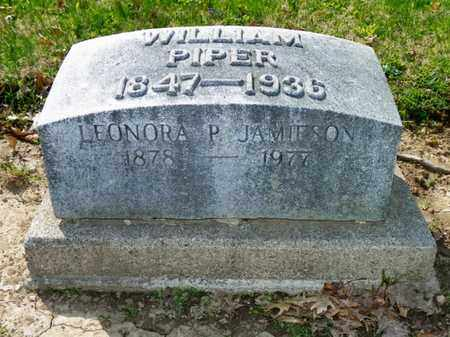 JAMIESON, LEONORA P. - Shelby County, Ohio | LEONORA P. JAMIESON - Ohio Gravestone Photos
