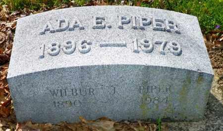 PIPER, WILBUR J. - Shelby County, Ohio | WILBUR J. PIPER - Ohio Gravestone Photos
