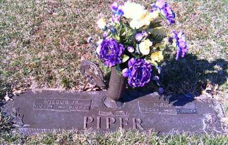 PIPER, WILBUR JR. - Shelby County, Ohio | WILBUR JR. PIPER - Ohio Gravestone Photos
