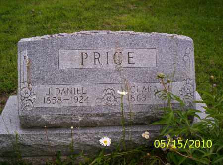 PRICE, J. DANIEL - Shelby County, Ohio | J. DANIEL PRICE - Ohio Gravestone Photos